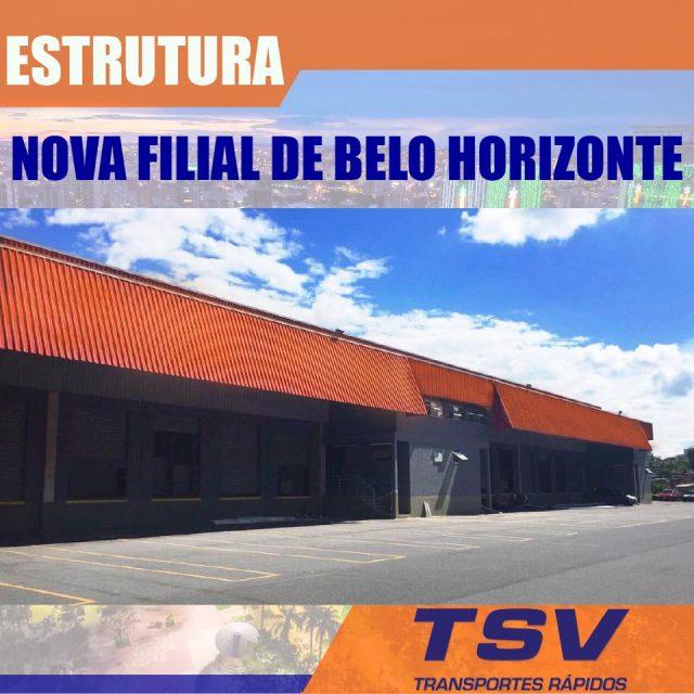 Nova filial em Belo Horizonte